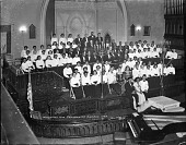 view Washington Community Chorus [acetate film photonegative] digital asset: Washington Community Chorus [acetate film photonegative], 1948.