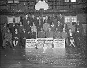 view YMCA Membership Campaign Committee [acetate film photonegative] digital asset: YMCA Membership Campaign Committee [acetate film photonegative], 1945.