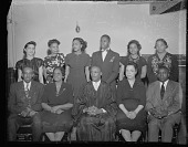 view Reverend Robert R. Rollins, Florida Avenue Baptist Church [acetate film photonegative] digital asset: Reverend Robert R. Rollins, Florida Avenue Baptist Church [acetate film photonegative. ca. 1940].