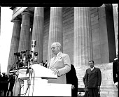 view President Truman at NAACP rally in Washington, D.C. [acetate film photonegative,] digital asset: President Truman at NAACP rally in Washington, D.C. [acetate film photonegative,] 1947.