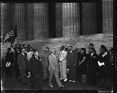 view President Truman at NAACP rally in Washington D.C. [acetate film photonegative] digital asset: President Truman at NAACP rally in Washington D.C. [acetate film photonegative].