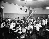 view Howard University: student teaching [acetate film photonegative] digital asset: Howard University: student teaching [acetate film photonegative, ca. 1930s].