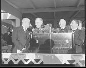 view [President Roosevelt speaking at Howard University : acetate film photonegative,] digital asset: [President Roosevelt speaking at Howard University : acetate film photonegative,] ca. 1940-1945.