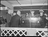 view President Roosevelt speaking at Howard University [acetate film photonegative] digital asset: President Roosevelt speaking at Howard University [acetate film photonegative, ca. 1940-1945].