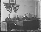 view Clarence Darrow at H[oward] U[niversity] Law School : [acetate film photonegative] digital asset: Clarence Darrow at H[oward] U[niversity] Law School : [acetate film photonegative, ca. 1930s].