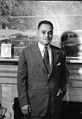 view Dr. Ralph Bunche [acetate film photonegative] digital asset: Dr. Ralph Bunche [acetate film photonegative, ca. 1946-1947].
