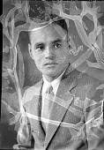 view Dr. Ralph Bunche [acetate film photonegative] digital asset: Dr. Ralph Bunche [acetate film photonegative, ca. 1933-1935].