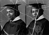 view Elizabeth Dixon, St. Paul's school : acetate film photonegative digital asset: Elizabeth Dixon, St. Paul's school : acetate film photonegative, 1948.