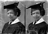 view Thelma Drew, St. Paul's school : acetate film photonegative digital asset: Thelma Drew, St. Paul's school : acetate film photonegative, 1948.
