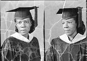 view Faculty member Mrs. Frances Thurman, St. Paul's school : acetate film photonegative digital asset: Faculty member Mrs. Frances Thurman, St. Paul's school : acetate film photonegative, 1948.