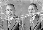 view Gozie Penson, Howard University School of Religion : acetate film photonegative digital asset: Gozie Penson, Howard University School of Religion : acetate film photonegative, 1948.