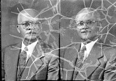 view Nelson J. Smith, Howard University School of Religion : acetate film photonegative digital asset: Nelson J. Smith, Howard University School of Religion : acetate film photonegative, 1948.