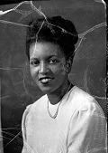 "view ""Miss Marion E. Jones"", Howard University Law School : acetate film photonegative digital asset: ""Miss Marion E. Jones"", Howard University Law School : acetate film photonegative, 1948."