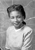 view Ruth Harvey, Howard University Law School : acetate film photonegative digital asset: Ruth Harvey, Howard University Law School : acetate film photonegative, 1948.