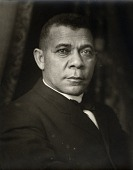view Booker T. Washington [black-and-white cellulose acetate photonegative] digital asset: Booker T. Washington [black-and-white cellulose acetate photonegative, 1910.]