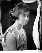 view Mrs. B. Brooks [studio portrait: nitrate film photonegative.] digital asset: Mrs. B. Brooks [studio portrait: nitrate film photonegative.]