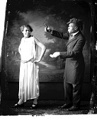 view Dooley [male and female theatrical performers : nitrate film photonegative.] digital asset: Dooley [male and female theatrical performers : nitrate film photonegative.]