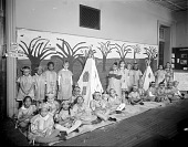 view Monroe School [children in American Indian costumes : nitrate film photonegative.] digital asset: Monroe School [children in American Indian costumes : nitrate film photonegative.]