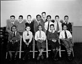 view Boys Club, Monroe School [nitrate film photonegative.] digital asset: Boys Club, Monroe School [nitrate film photonegative.]