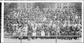view Graduating Class of Armstrong High School, June 1935 [acetate film photonegative, banquet camera format.] digital asset: Graduating Class of Armstrong High School, June 1935 [acetate film photonegative, banquet camera format.]