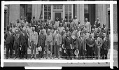 view Scurlock Studio Records, Subseries 4.12: Banquet Negatives digital asset: Assn. of Former Internes [sic] of Freedmen's Hospital, June 2-4, 1931. [acetate film photonegative,] 1931.