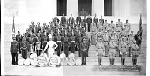 view Drill Team and Drum Corps...James Reese Europe Post No. 5, American Legion, Sept. 39. Wash. D.C. [acetate film photonegative,] digital asset: Drill Team and Drum Corps...James Reese Europe Post No. 5, American Legion, Sept. 39. Wash. D.C. [acetate film photonegative,] 1939.