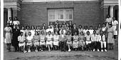 view Miner Teachers College Glee Club, 1939... [sic] / Scurlock / Photo [acetate film photonegative, banquet camera format] digital asset: Miner Teachers College Glee Club, 1939... [sic] / Scurlock / Photo [acetate film photonegative, banquet camera format].