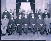 view H.U. [Howard University] Dept. Heads. [Acetate film photonegative,] 1936 digital asset number 1