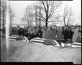 view Capt. Overall [?] Burial at Arlington [from original envelope]. [Acetate film photonegative,] digital asset: Capt. Overall [?] Burial at Arlington [from original envelope]. [Acetate film photonegative,] January, 1949.