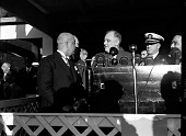 view President Roosevelt at Howard University [from envelope; #2 of 2] [acetate film photonegative,] digital asset: President Roosevelt at Howard University [from envelope; #2 of 2] [acetate film photonegative,] [1930-1940].