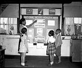 view Mrs. Duckett / Monroe School [from envelope; #1 of 3] [acetate film photonegative,] digital asset: Mrs. Duckett / Monroe School [from envelope; #1 of 3] [acetate film photonegative,] May 1947?