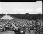 view NAACP Mass Meeting [Lincoln Memorial--Harry Truman address, Mrs. Roosevelt-- 38th annual NAACP Conference; from envelope; #2 of 4] [acetate film photonegative,] digital asset: NAACP Mass Meeting [Lincoln Memorial--Harry Truman address, Mrs. Roosevelt-- 38th annual NAACP Conference; from envelope; #2 of 4] [acetate film photonegative,] June, 28, 1947.