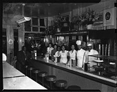view Jones Delicatessen [from envelope] [acetate film photonegative,] digital asset: Jones Delicatessen [from envelope] [acetate film photonegative,] Mar. 1949.
