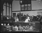 view H.U. [Howard University] Orchestra Concert Louia Jones [from envelope] [acetate film photonegative,] digital asset: H.U. [Howard University] Orchestra Concert Louia Jones [from envelope] [acetate film photonegative,] Mar. 1949.