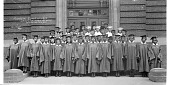 view [Mid-Year Class of 1937 Cardozo High School, Washington, D.C.] [acetate film photonegative, banquet camera format.] digital asset: [Mid-Year Class of 1937 Cardozo High School, Washington, D.C.] [acetate film photonegative, banquet camera format.]