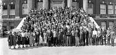 view [Freshmen Class 1937, Howard University] [acetate film photonegative, banquet camera format.] digital asset: [Freshmen Class 1937, Howard University] [acetate film photonegative, banquet camera format.]