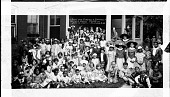 view Anne and Corella Burwell's / Mother Goose Party ~ / June 12, 1929 [acetate film photonegative, banquet camera format.] digital asset: Anne and Corella Burwell's / Mother Goose Party ~ / June 12, 1929 [acetate film photonegative, banquet camera format.]
