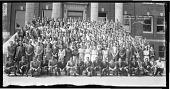 view Freshman Class of 1936 Howard University [acetate film photonegative, banquet camera format.] digital asset: Freshman Class of 1936 Howard University [acetate film photonegative, banquet camera format.]