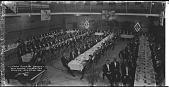 view Kappa Alpha Psi Banquet -- 26th Annual Convention Wash. D.C., Dec. 27-30 1936 [acetate film photonegative, banquet camera format.] digital asset: Kappa Alpha Psi Banquet -- 26th Annual Convention Wash. D.C., Dec. 27-30 1936 [acetate film photonegative, banquet camera format.]