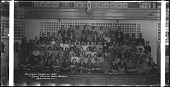 view Mid-Year Class of 1937 Shaw Junior High School Washington, D.C. [acetate film photonegative, banquet camera format.] digital asset: Mid-Year Class of 1937 Shaw Junior High School Washington, D.C. [acetate film photonegative, banquet camera format.]
