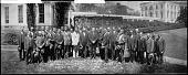 view President Coolidge Receives National Ministerial Alliance Delegates Apr. 20, 1927 [acetate film photonegative, banquet camera format.] digital asset: President Coolidge Receives National Ministerial Alliance Delegates Apr. 20, 1927 [acetate film photonegative, banquet camera format.]