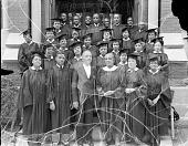 view Metropolitan A.M.E Church group [on original envelope] [acetate film photonegative, ca. 1940] digital asset number 1