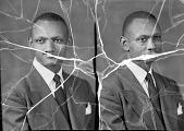view Brown H. Payne, Howard University Law School [acetate film photonegative,] digital asset: Brown H. Payne, Howard University Law School [acetate film photonegative,] 1948.