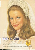 view Breck Girl. [Kim Basinger as a bride.] [Print advertising tear sheet.] digital asset: Breck Girl. [Kim Basinger as a bride.] [Print advertising tear sheet.]