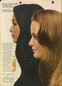 view Tahitian and Breck girls share the secret of beautiful hair. [Print advertising.] digital asset: Tahitian and Breck girls share the secret of beautiful hair. [Print advertising.] 1965