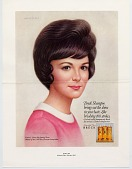 view Breck Shampoo brings out the shine in your hair. [Print advertising.] digital asset: Breck Shampoo brings out the shine in your hair. [Print advertising.] 1967.