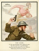 view The Game [illustrated poster with poem] digital asset: The Game [illustrated poster with poem, ca. 1917-1918].