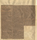 view Walter Jones Willard's Leg Accident at the Depot, includes Newspaper Clippings and Sympathy Letters, 10 December 1888 digital asset: Walter Jones Willard's Leg Accident at the Depot, includes Newspaper Clippings and Sympathy Letters, 10 December 1888