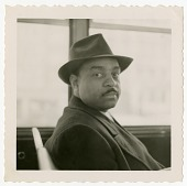 view Benny Carter, 1961 [black-and-white photoprint] digital asset: Benny Carter, 1961 [black-and-white photoprint].