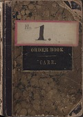 view [E. Howard Clock Orders Ledger Volume 2, book] digital asset: [E. Howard Clock Orders Ledger Volume 2, book]
